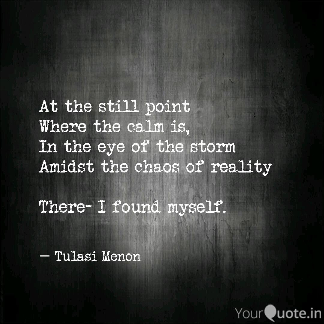 Fridge Worthy Quotes On The Eye Of The Storm Finding The Eye Of